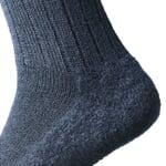 Woolen Socks with Felt Sole Navy Blue