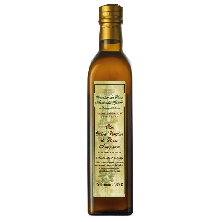 Armando Garello Olive Oil from Liguria, 500 ml glass bottle