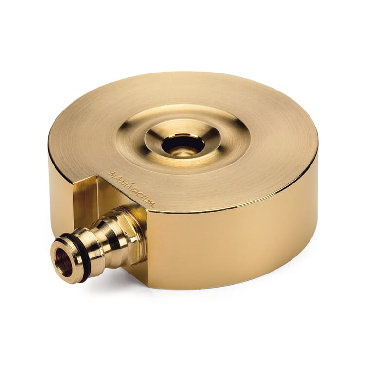Manufactum brass turned sprinkler