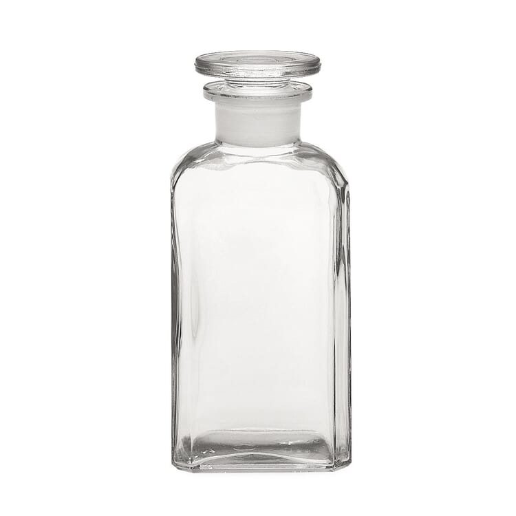 Square-Cut Bottle Glass
