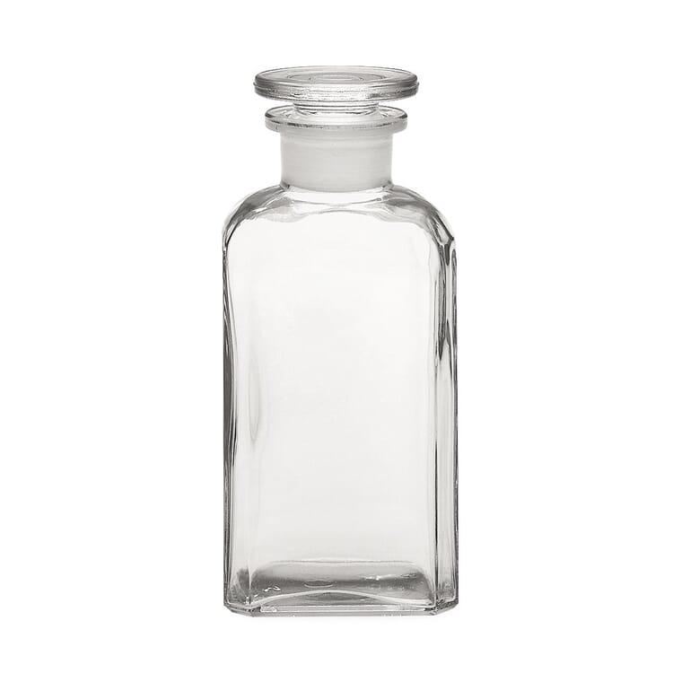 Vierkantflasche Glas