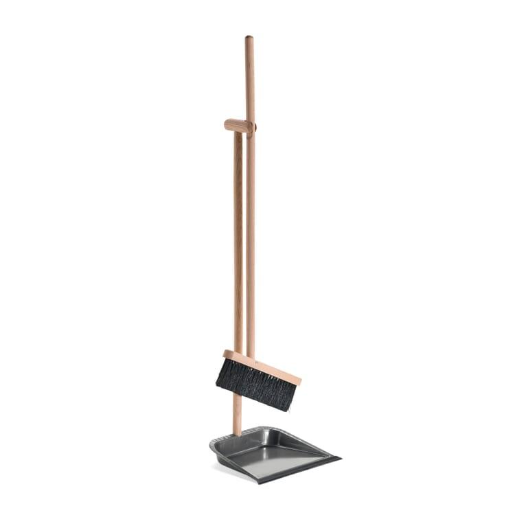 Stehkehrgarnitur Buchenholz und Stahlblech