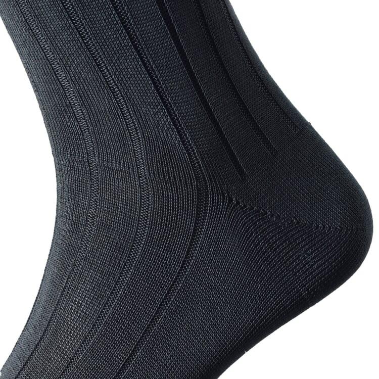 Kessler Cotton Men's Socks, Anthracite