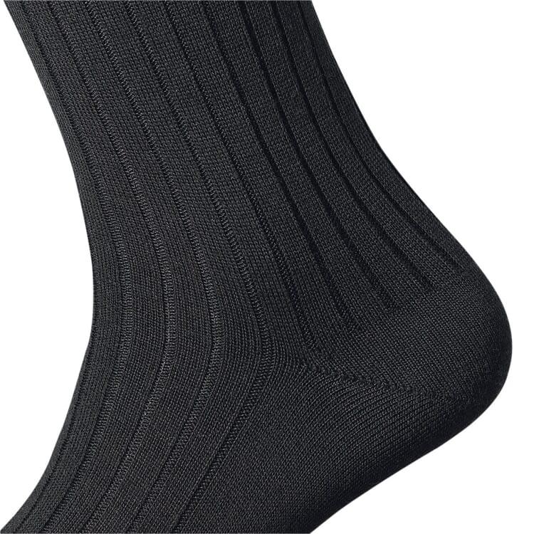 Kessler Merino Wool Men's Socks, Black