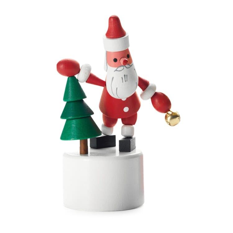 Drückfigur Weihnachtsmann