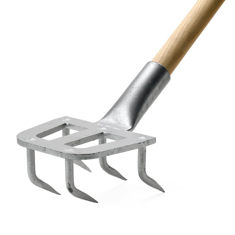 Narrow Galvanized Steel Hand Harrow