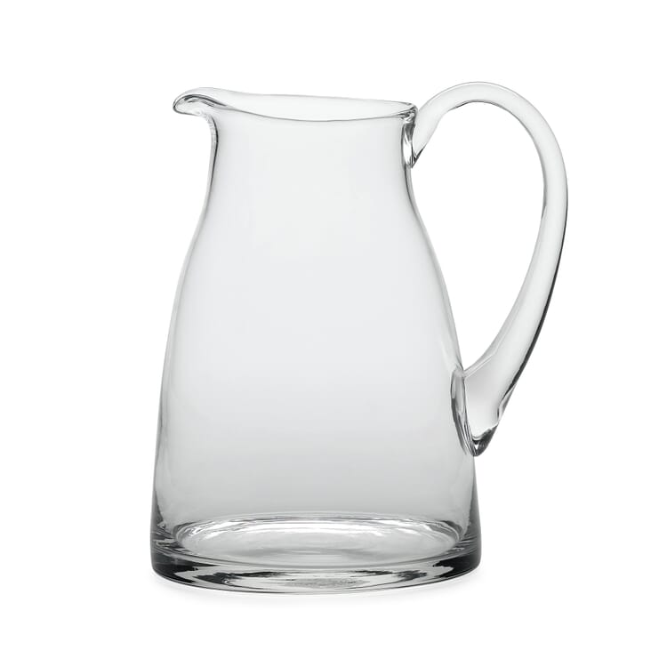 Mouth-Blown Glass Jug