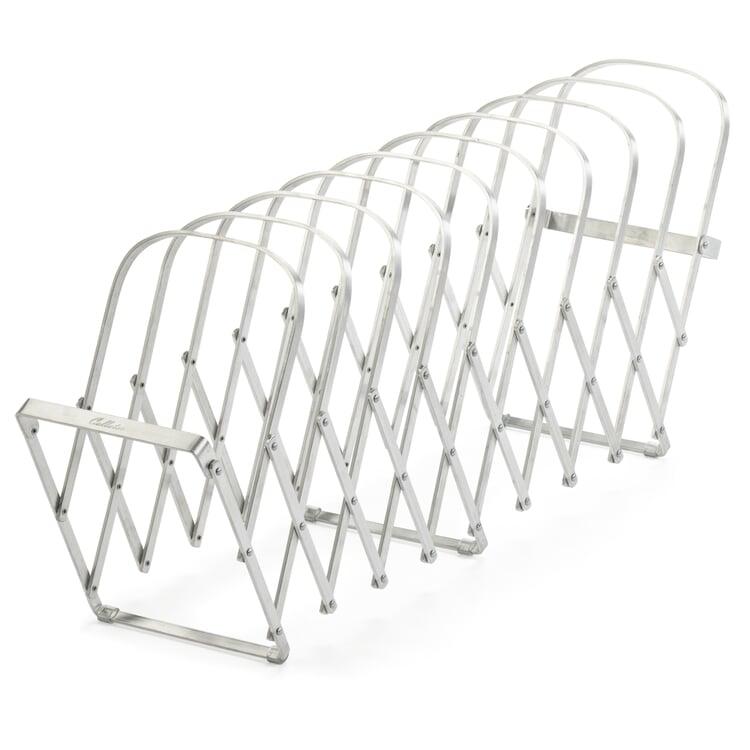 Folding Aluminium Paper Sorter 10 compartments