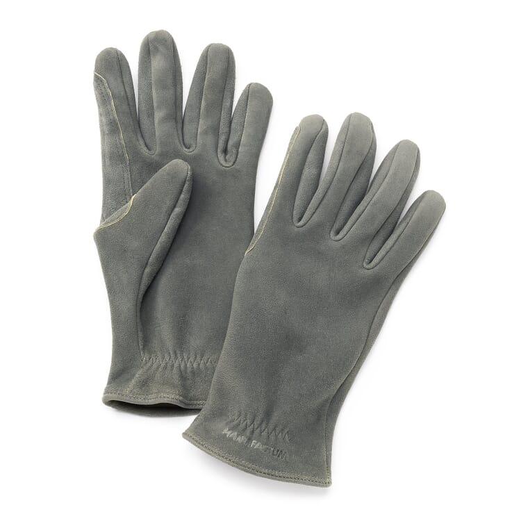 Manufactum Deerskin Gloves, Grey