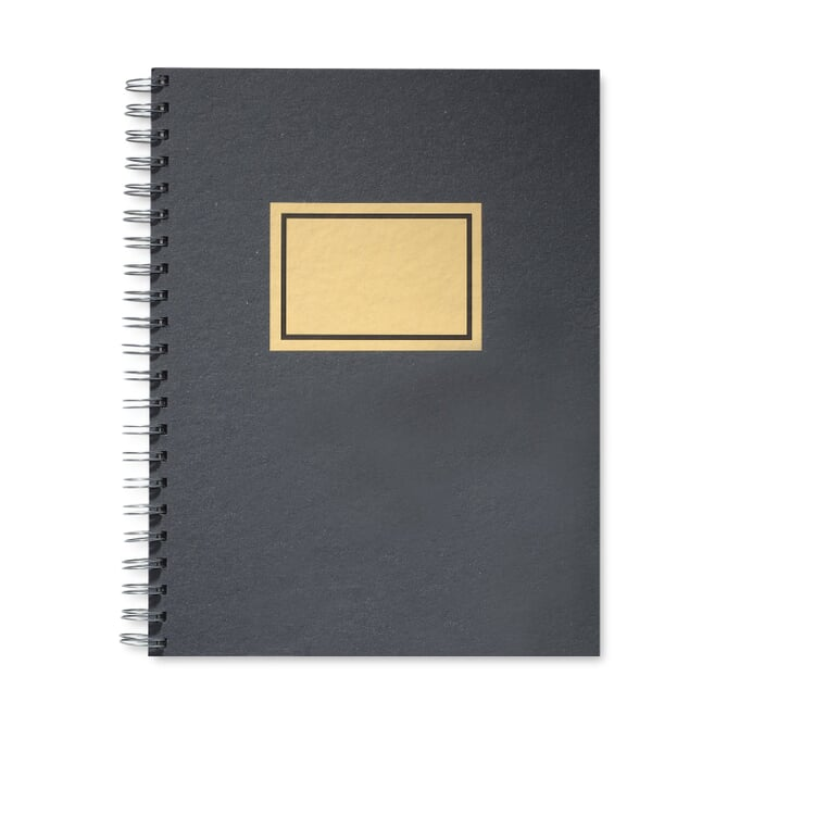 Sketch Book with Spiral Binding