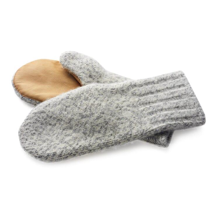 Schladminger Walkfausthandschuh, Graumelange