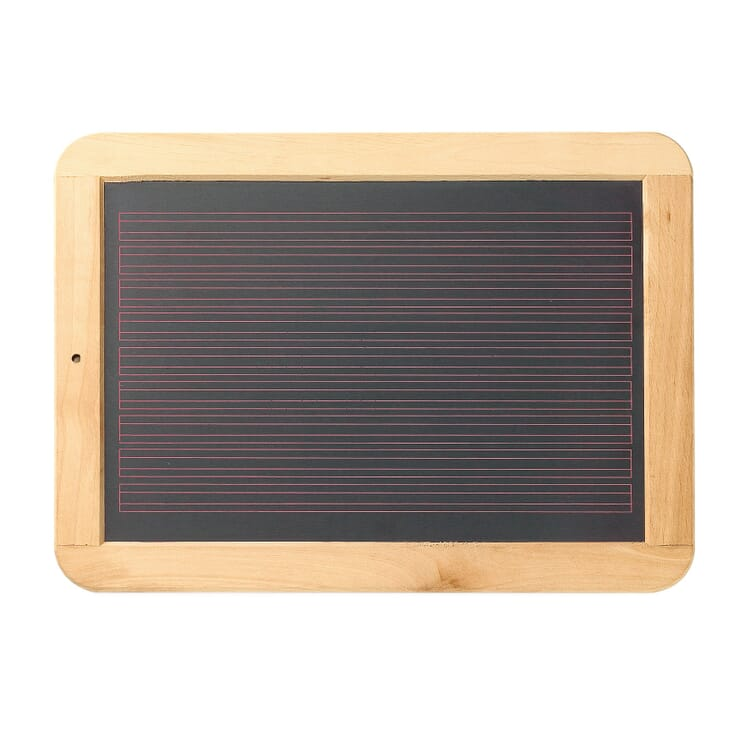 School Slate, Lined/Squared
