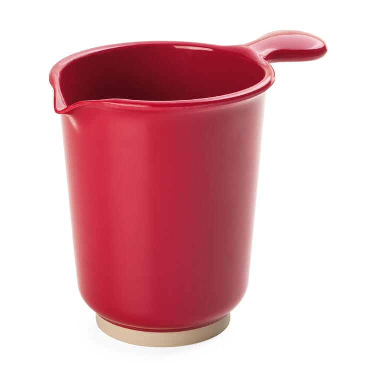 Stirring Jug Made of Melamine Resin, Red