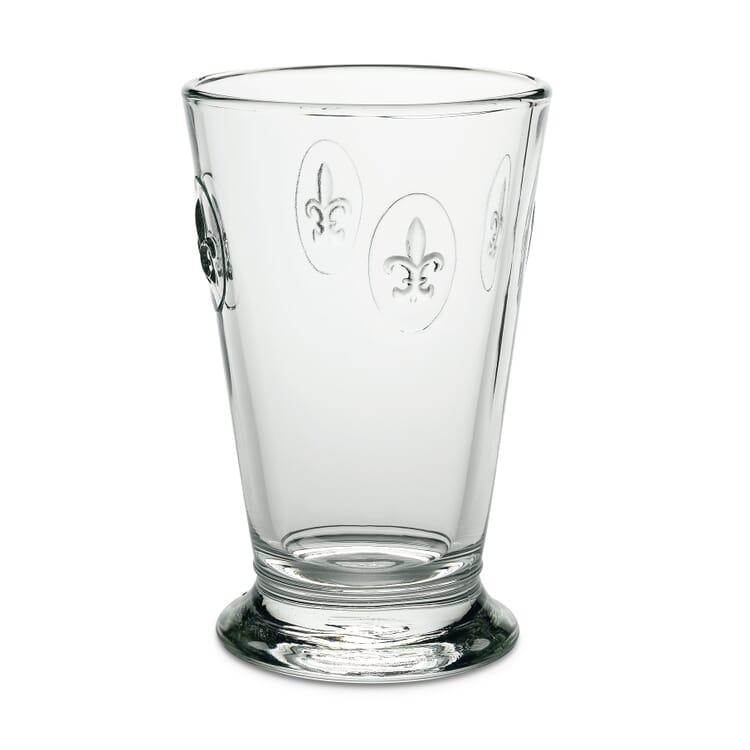 La Rochère Fleur-de-Lys Drinking Glass, Volume 280 ml