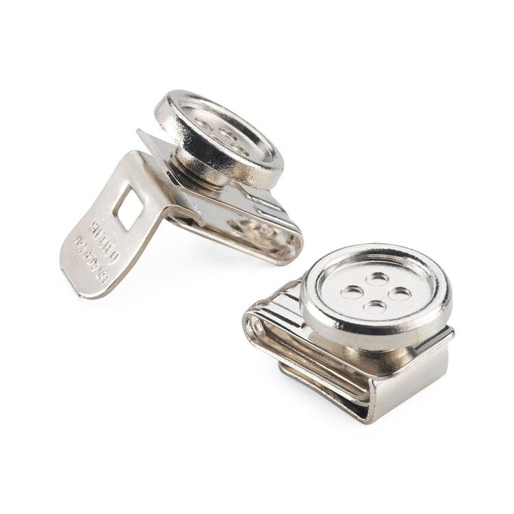 Suspender Clip Buttons (6 pieces)
