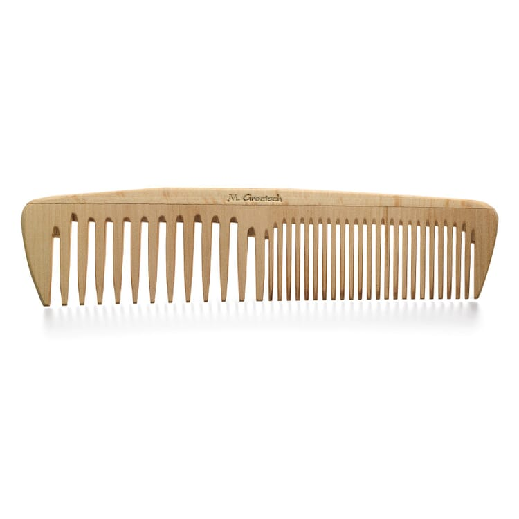 Ladies' and family wood comb