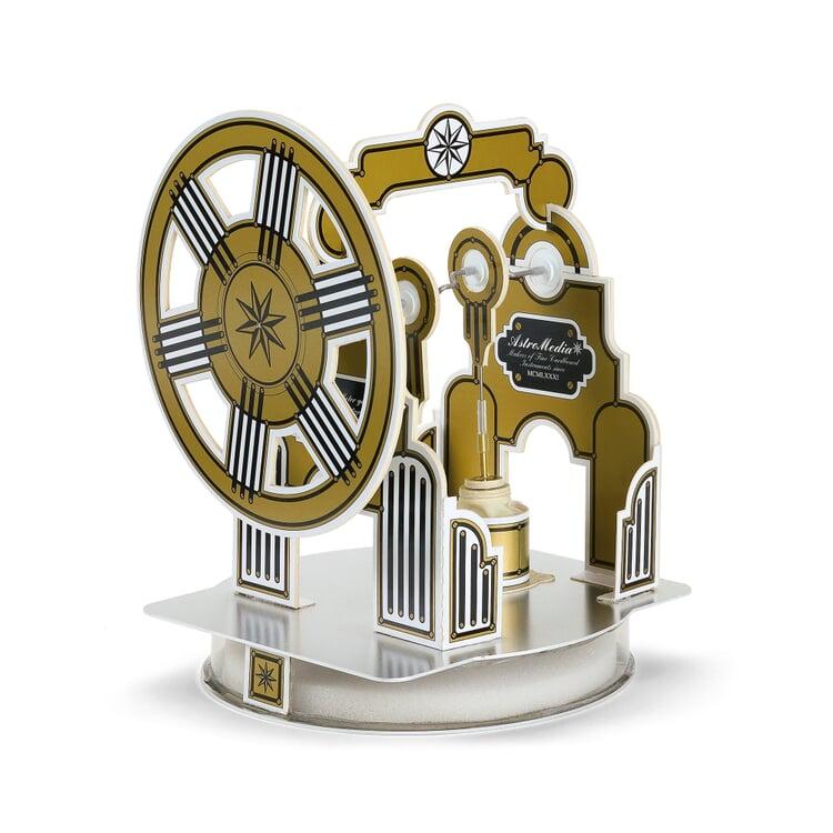 AstroMedia Bausatz Stirling-Motor Karton/Aluminium