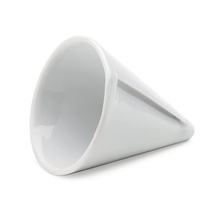 Porcelain candle sharpener