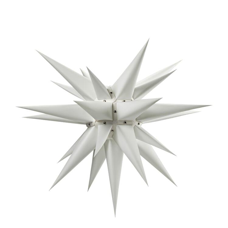Moravian Star, White