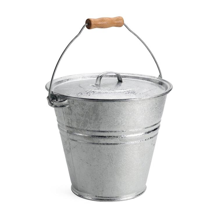 Galvanized Bucket and Lid