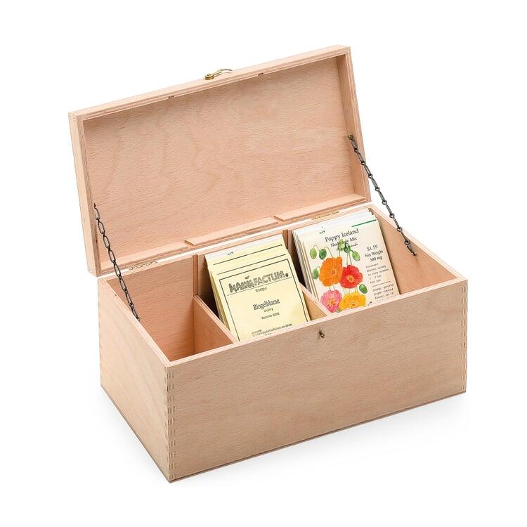 Manufactum Holzkassette für Sämereien