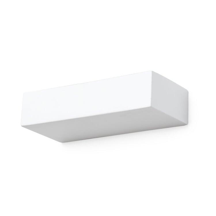 Ceramic Wall Lamp Rectangular Small