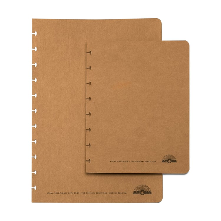 Set of A4 Texon Covers Brown