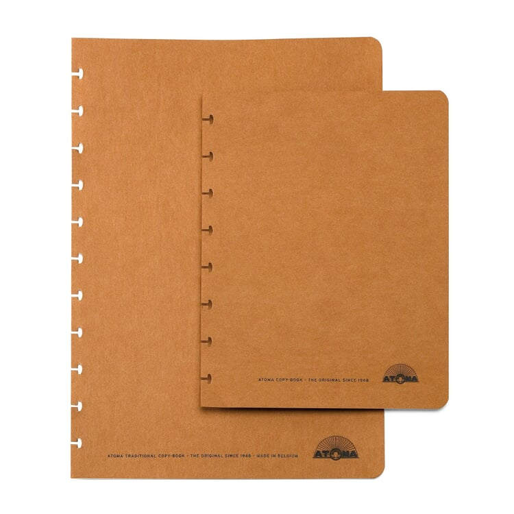 Set of A5 Texon Covers Brown