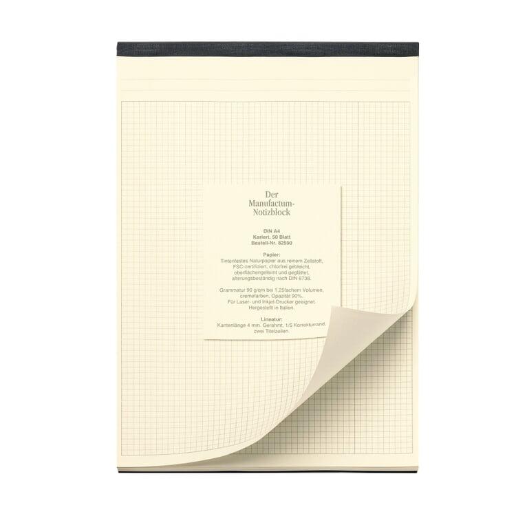 Manufactum A4 Memo Pad Squared