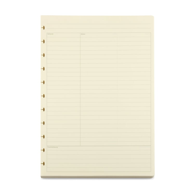 Atoma A4 Inserts Cornell Notes