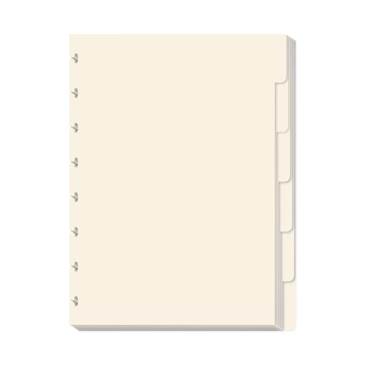 Atoma A4 Tab Sheets