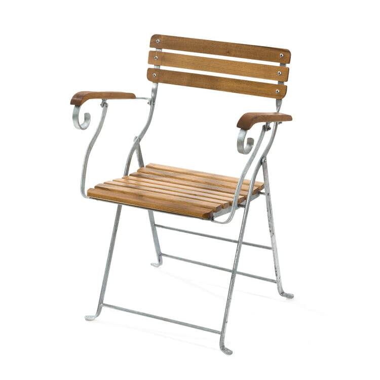 Beer Garden Chair with Armrests by Elefant
