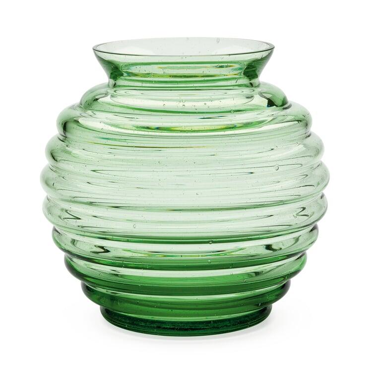 Vase Thüringer Waldglas Kugelform