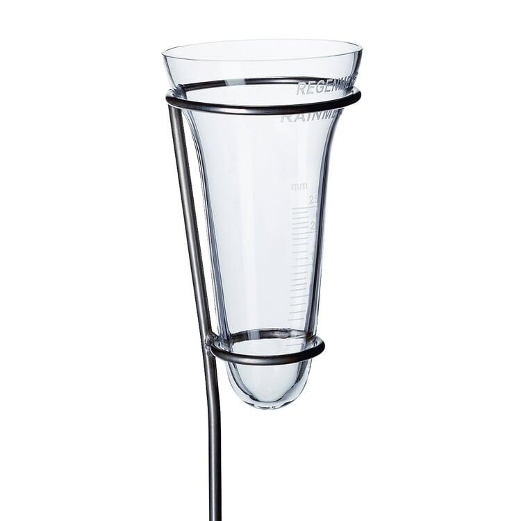 Regenmesser Kristallglas