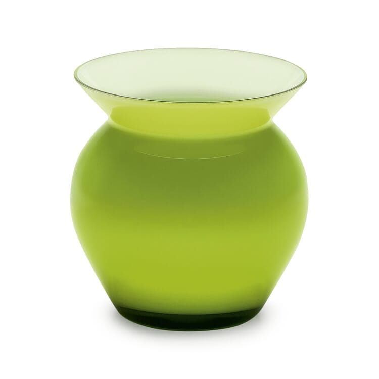Green Harz Crystal Vase