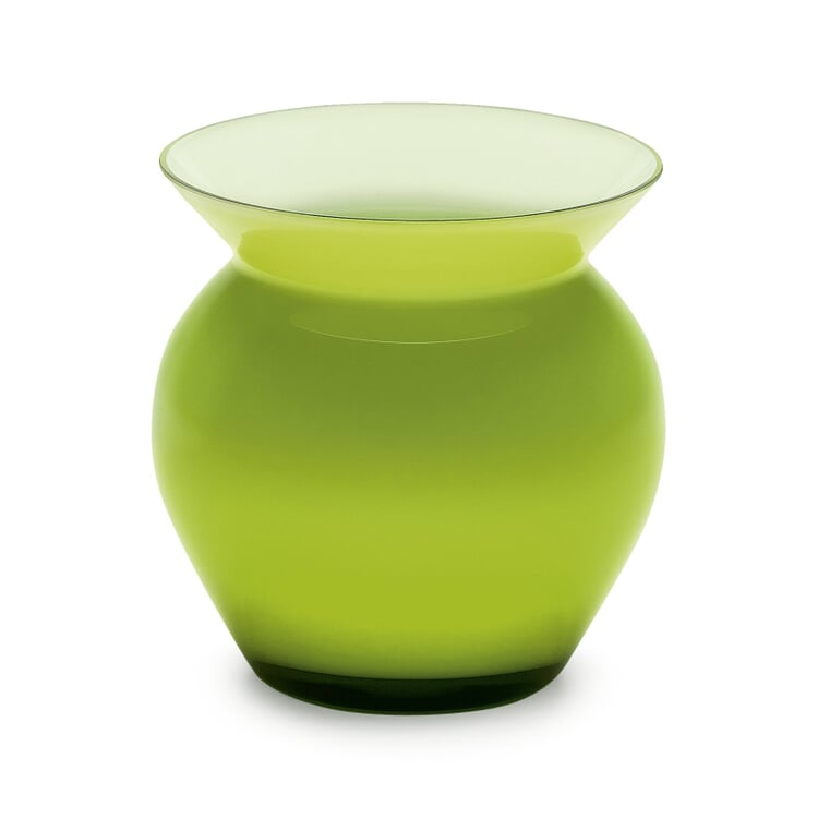 Vase Harzkristall grün