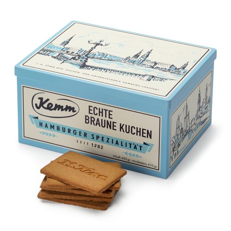 Kemm Biscuits in an Alster Tin