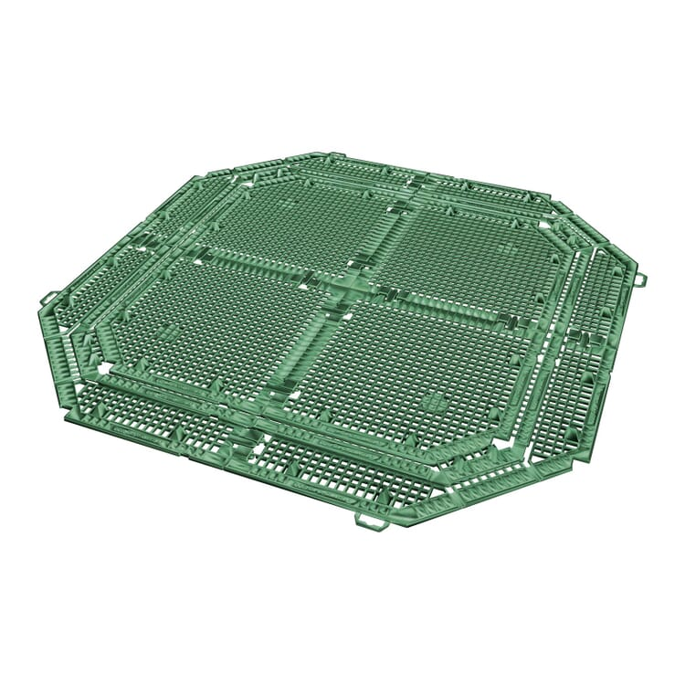 Base Grid for Insulating Plastic Thermo-Composter