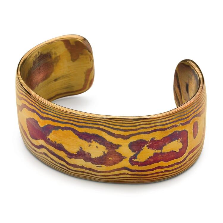 Bracelet Mokume-Gane