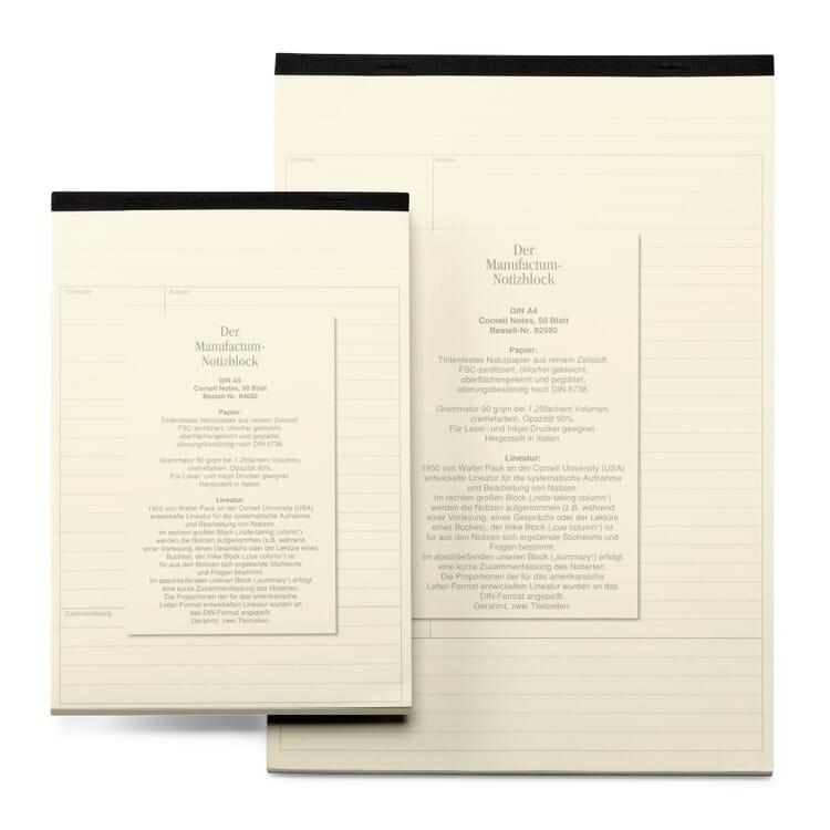 Manufactum A5 Notepad