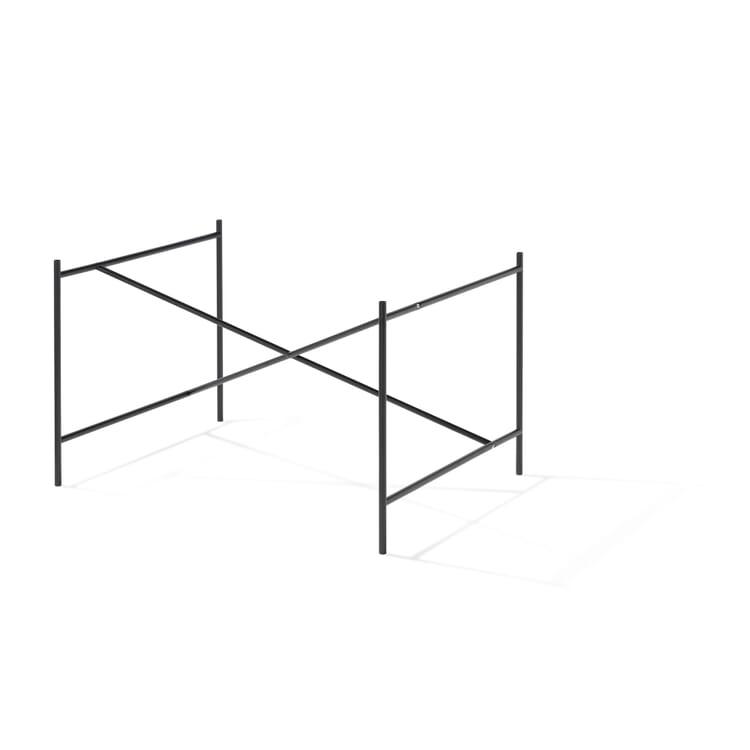 Base Frame for Tabletops Eiermann 1, Jet black RAL 9005