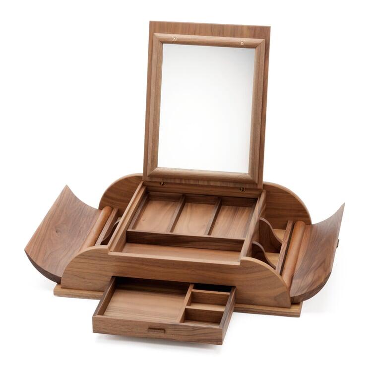 Walnut Mirror Box
