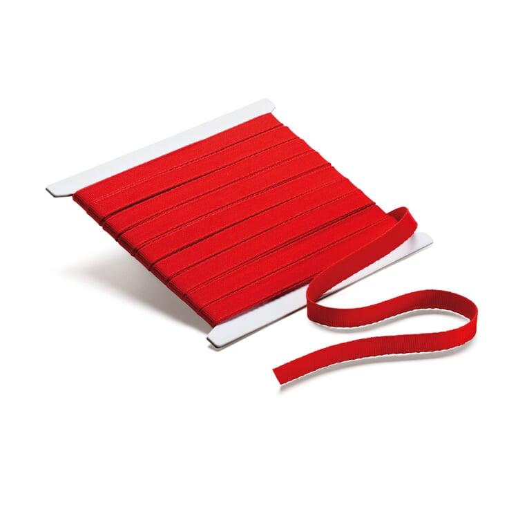 Corded Ribbon Width 10 mm, length 10 m Width 10 mm, length 10 m - Red