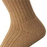 Manufactum Socke Kamelhaarzwirn Braun