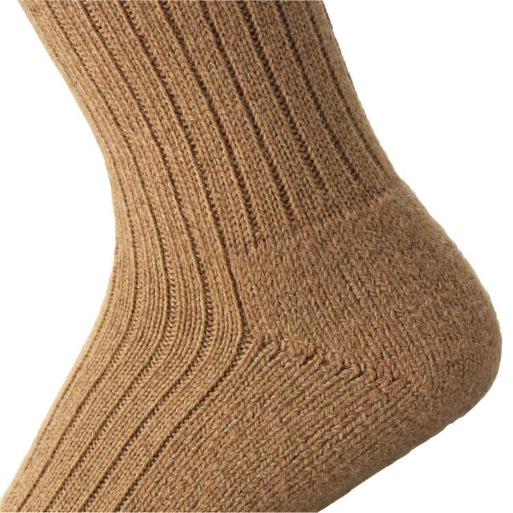 Manufactum Socke Kamelhaarzwirn, Braun