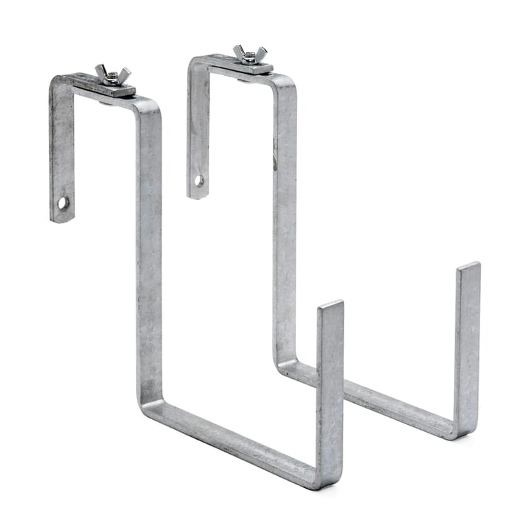 Galvanized Steel Balcony Box Brackets
