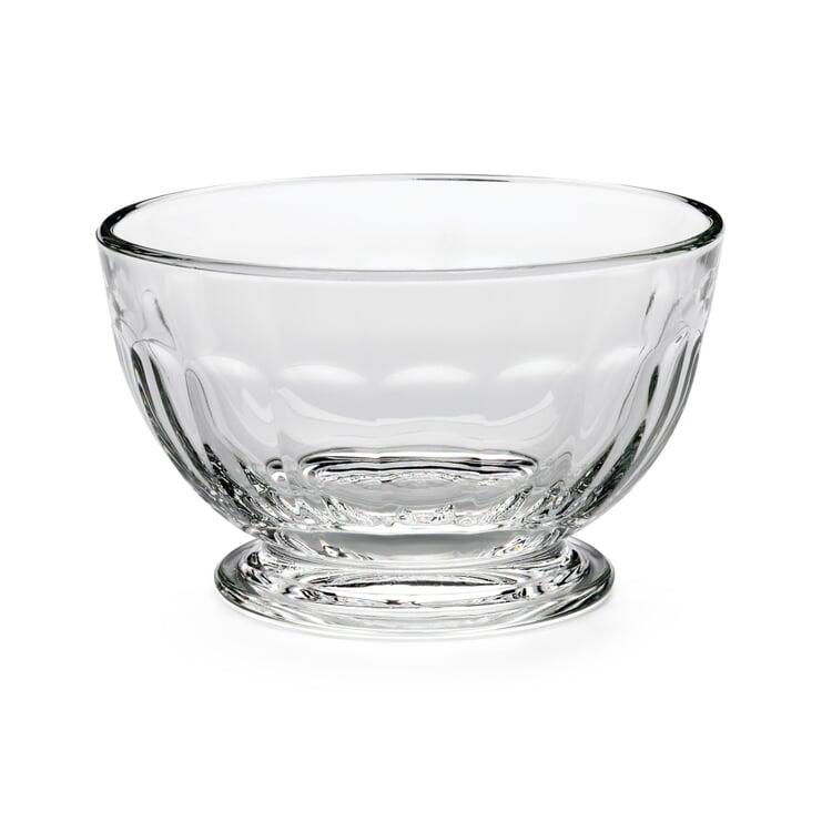 La Rochère Ice Cream Dish Made of Pressed Glass