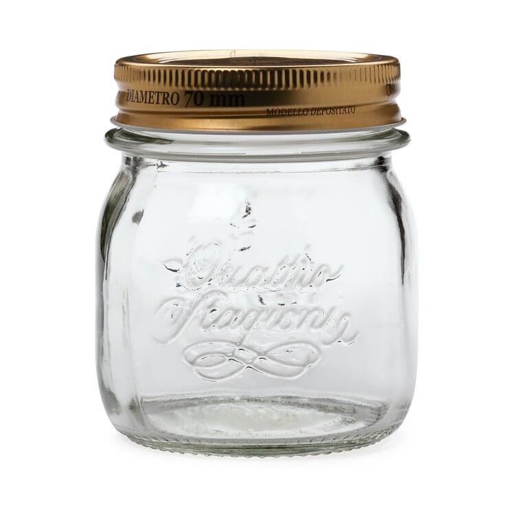 Preserving Jar with Screw Lid 4 × 0,25 l