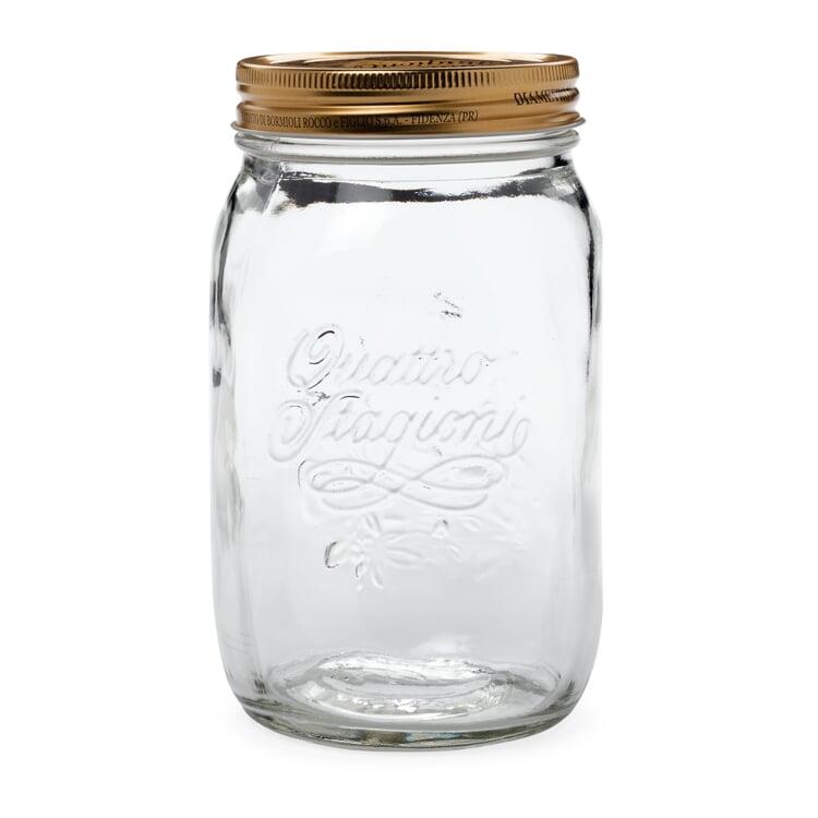 Einkochglas Schraubdeckel Volumen 1 l