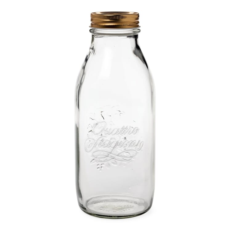 Juice Bottle 1 l with Screw Top